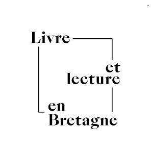Logo Livre et lecture en Bretagne noir